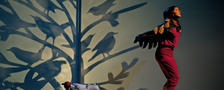 Jeanne et la chambre à airs - Cie l'Artifice. Photo : Laurence Guillot